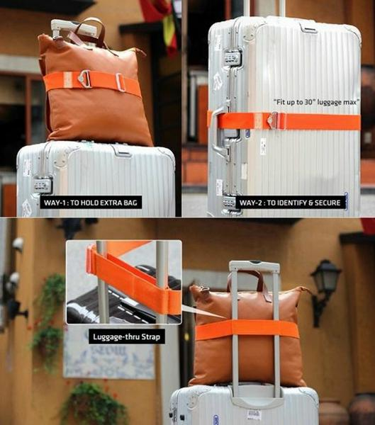 dây đai vali không có khóa số