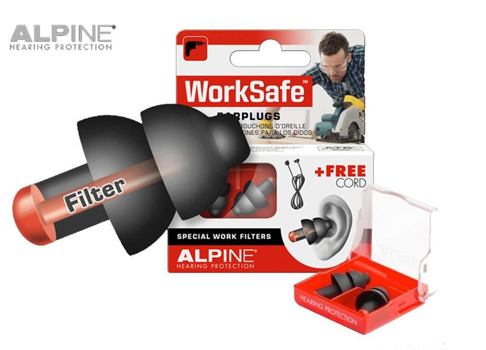 mua nút bịt tai chống ồn alpine làm việc