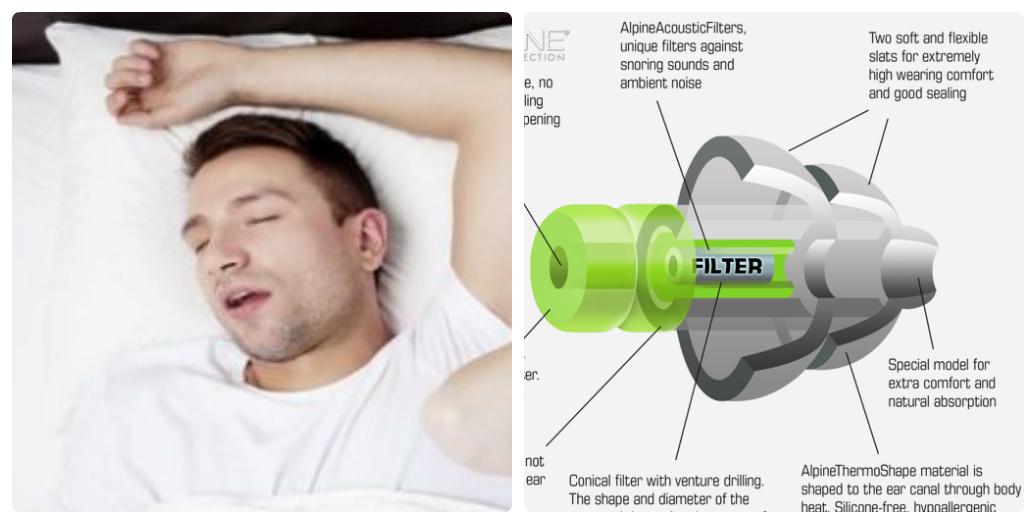 bịt tai chống ồn ngủ ngáy