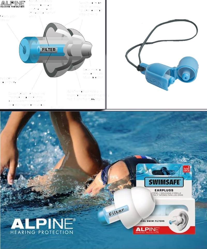 đồ bịt tai bơi chống nước vào tai