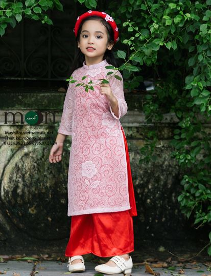 áo dài cách tân cho bé gái cực xinh
