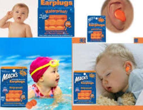 trẻ em có nên sử dụng nút bịt tai chống ồn hay không