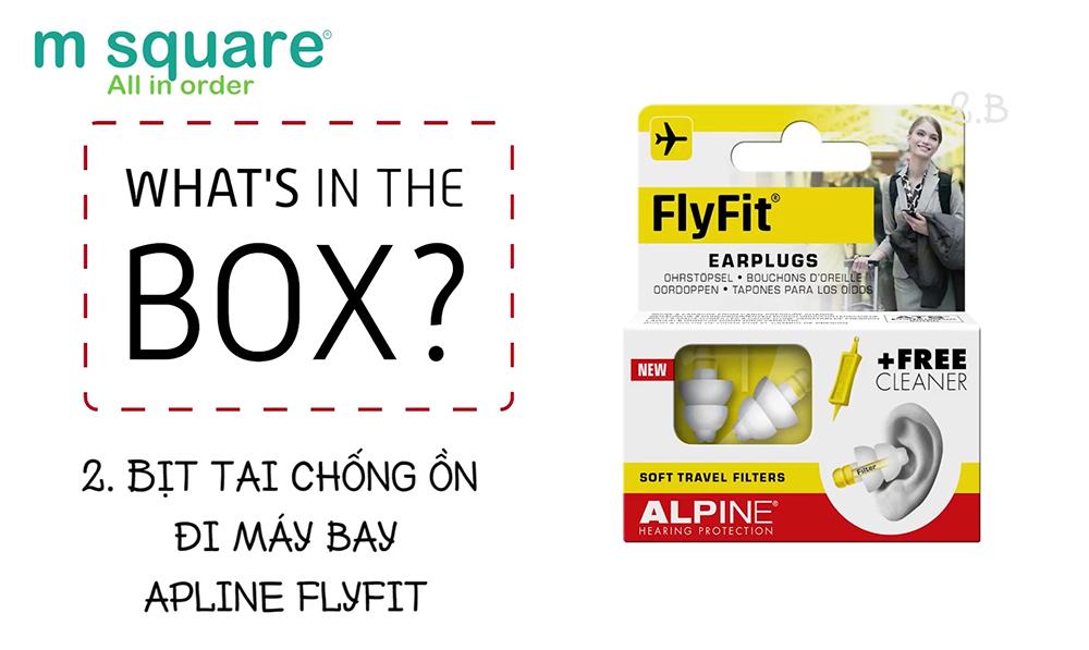 nút bịt tai chống ồn alpine cao cấpo đi máy bay
