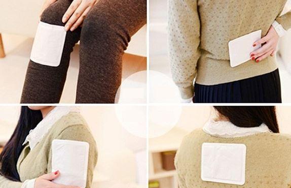 Cách dùng miếng dán giữ nhiệt tỏa nhiệt cực ấm và an toàn