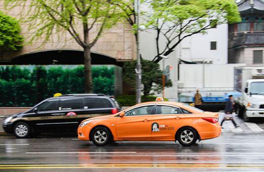 điều nên biết khi đi du lịch hàn quốc về taxi