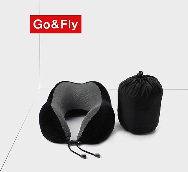 gối chữ u cao su non gấp gọn go&fly soft