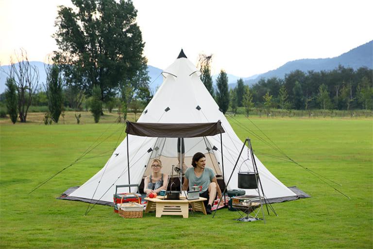 lều cắm trại dáng mông cổ