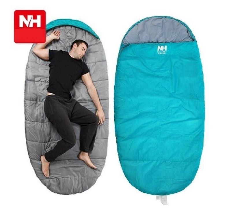 Túi ngủ đi phượt Naturehike PAD300S màu xanh dương